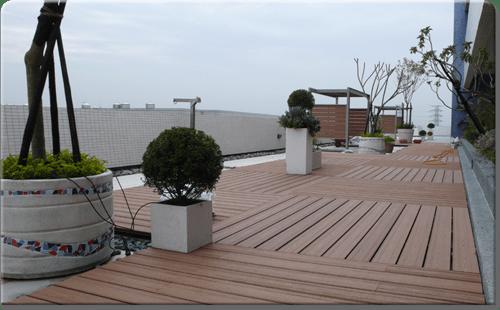Tarima composite madera para exterior sin mantenimiento - Suelo composite exterior ...