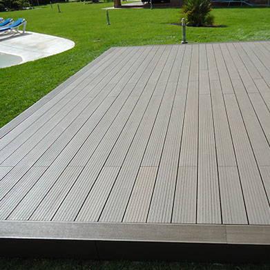 Tarima madera exterior sintetica neoture for Madera sintetica exterior