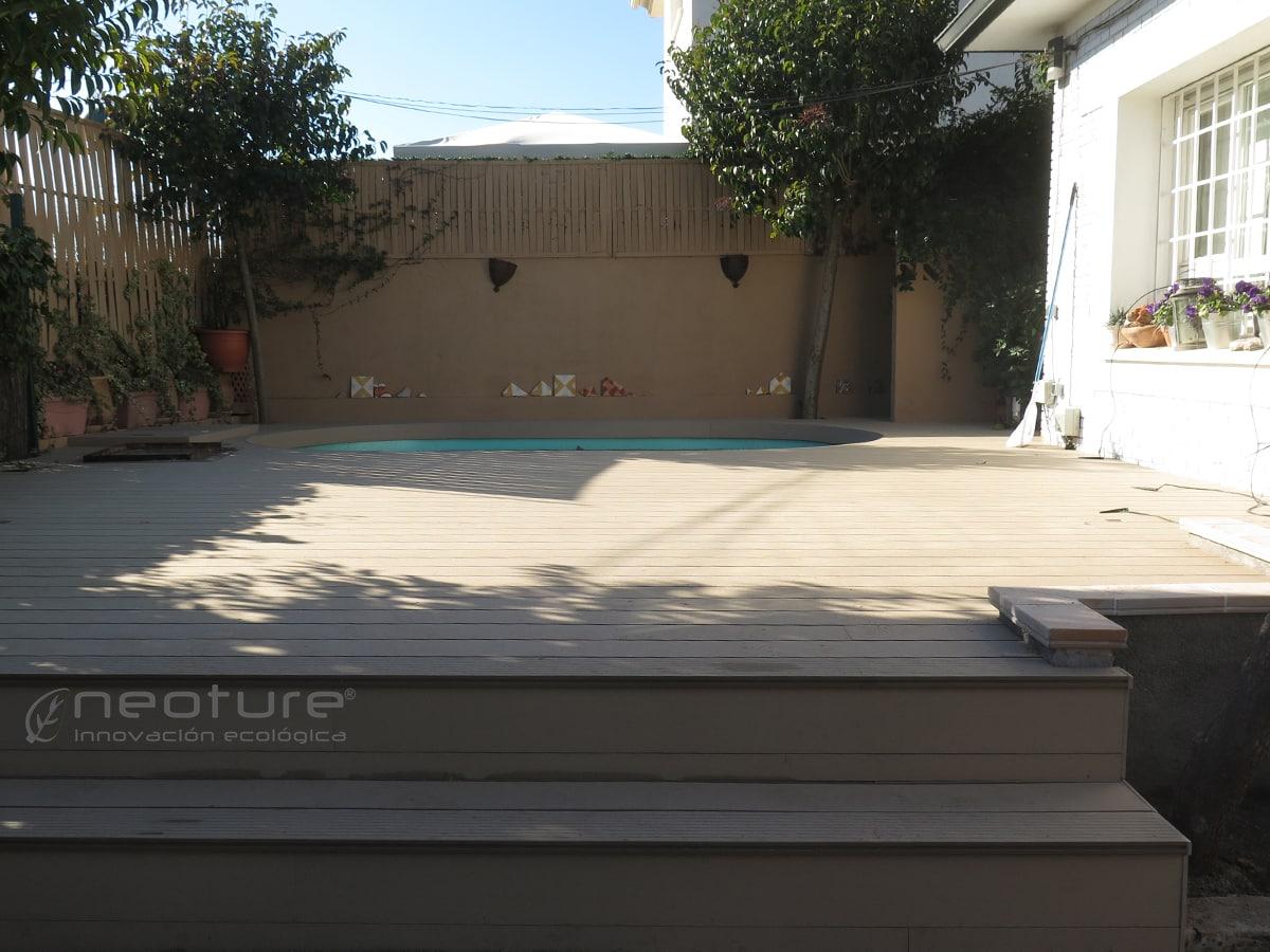 Tarima exterior sint tica para terrazas - Tarima sintetica ...