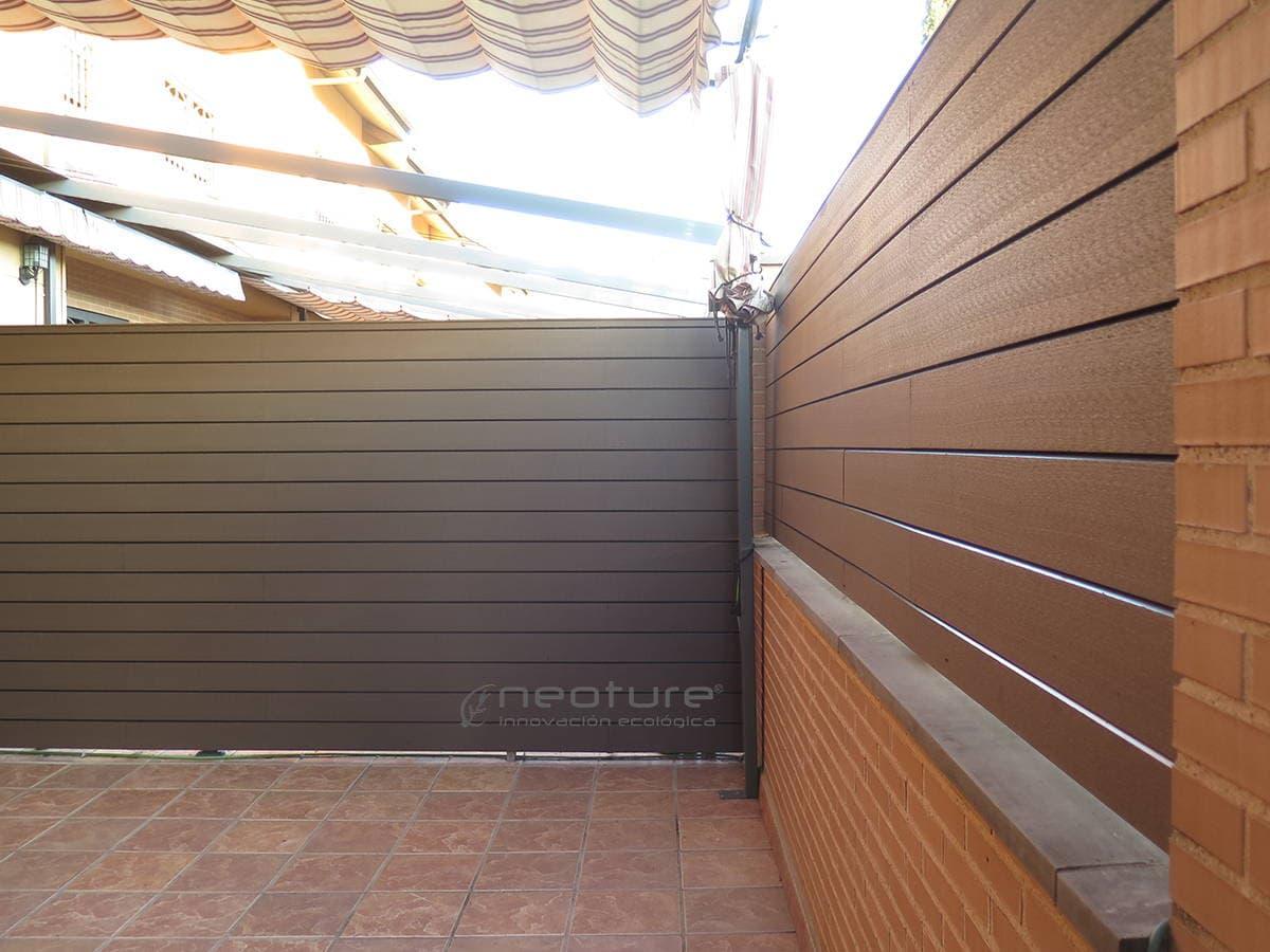 Revestimiento sint tico for Revestimiento de paredes exteriores baratos