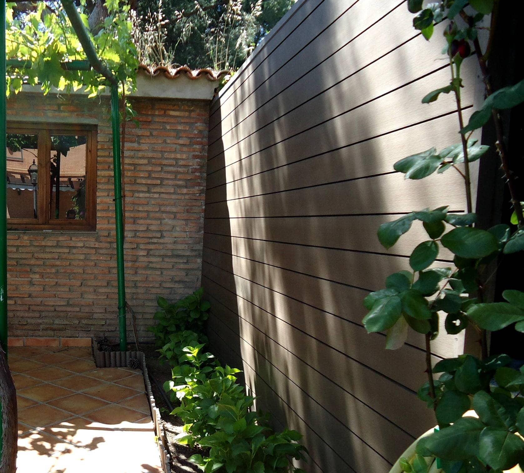 Revestimiento sint tico - Muro jardin ...