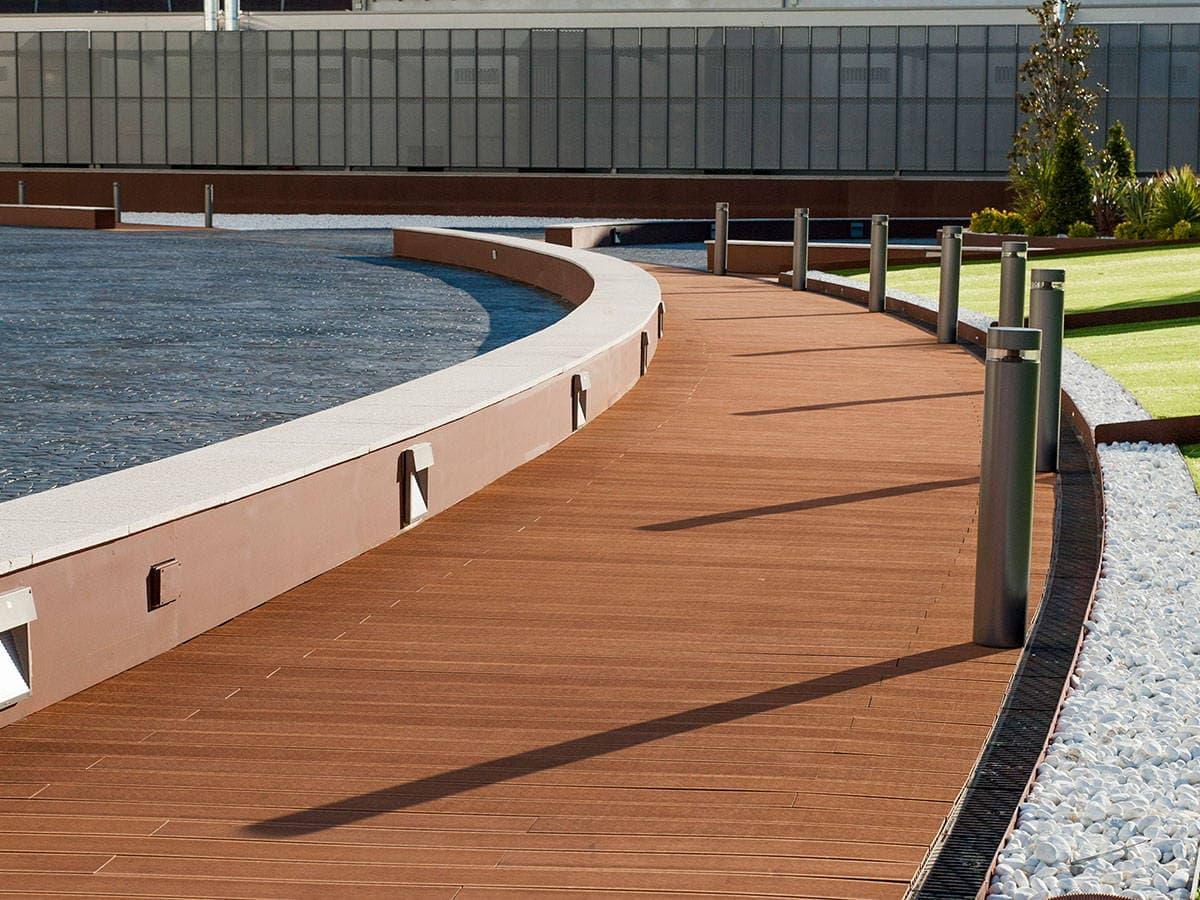 Tarima tecnologica para exterior la madera de alta for Tarimas de madera para jardin