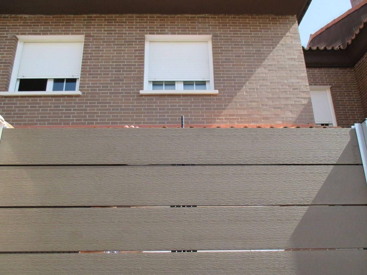 Cerramiento madera exterior cerramiento de porche de for Porticones madera exteriores
