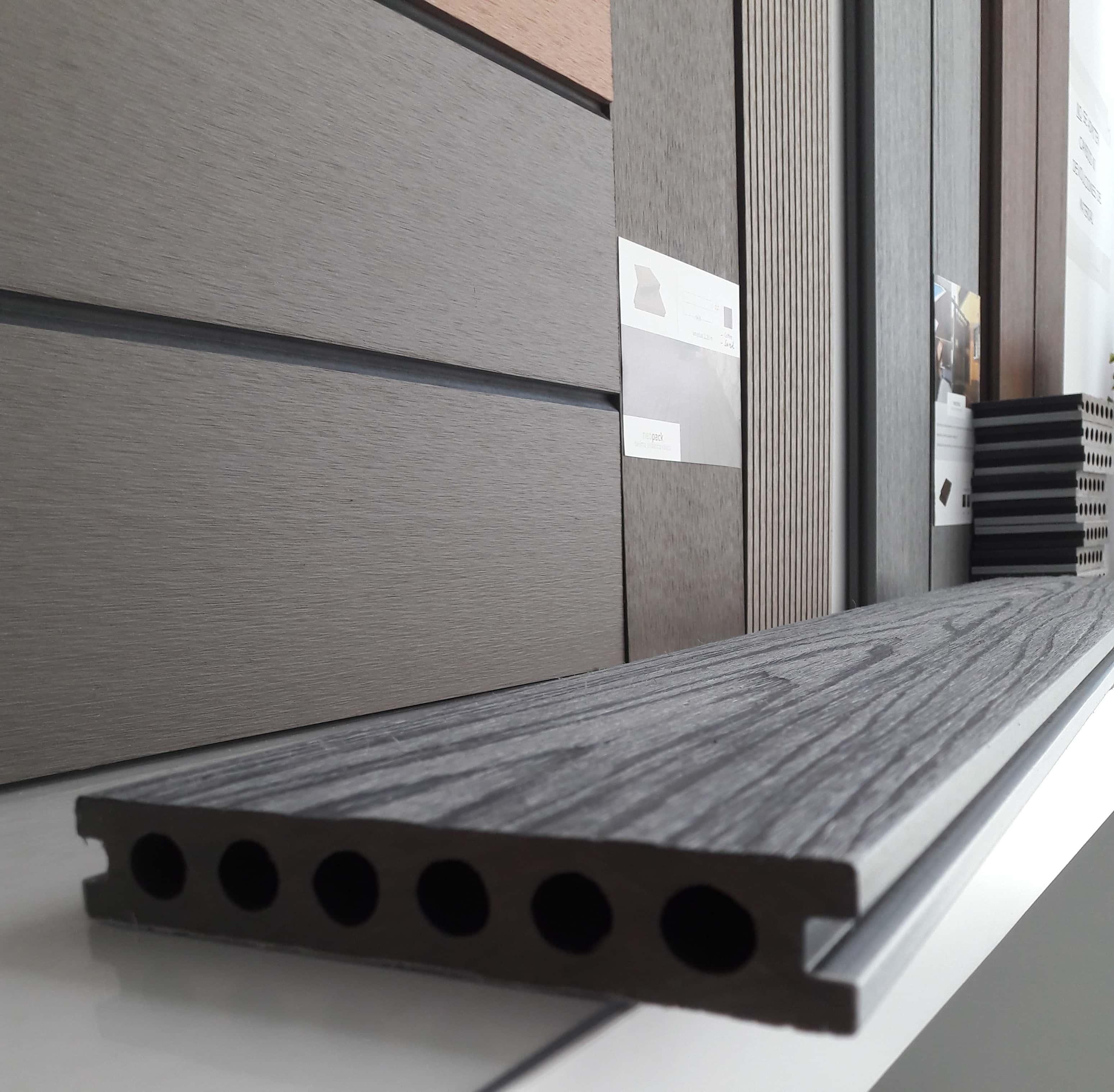 Tarima madera sintetica conoce de que est n compuestas - Suelo de madera para jardin ...