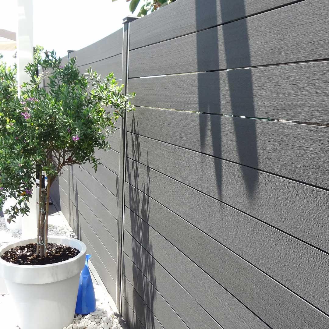Madera composite para tarimas baldosas y revestimientos for Suelo composite exterior